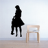 Mom And Son Hugging Silhouette Decal