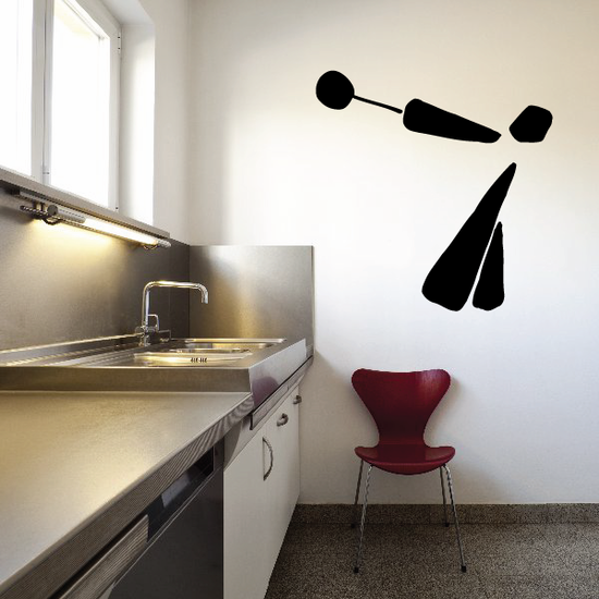 Track and field Wall Decal - Vinyl Decal - Car Decal - Bl059