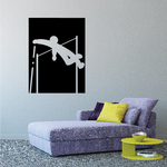 Track and field Wall Decal - Vinyl Decal - Car Decal - Bl061