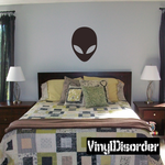 Alien Face Decal
