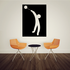 Track and field Wall Decal - Vinyl Decal - Car Decal - Bl064