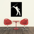 Track and field Wall Decal - Vinyl Decal - Car Decal - Bl065