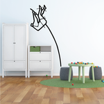 Track and field Wall Decal - Vinyl Decal - Car Decal - Bl072