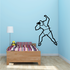 Track and field Wall Decal - Vinyl Decal - Car Decal - Bl073