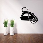 Clothes Iron Decal