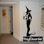 Attractive Witch Decal
