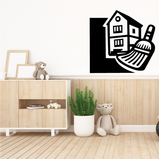 Housekeeping Decal