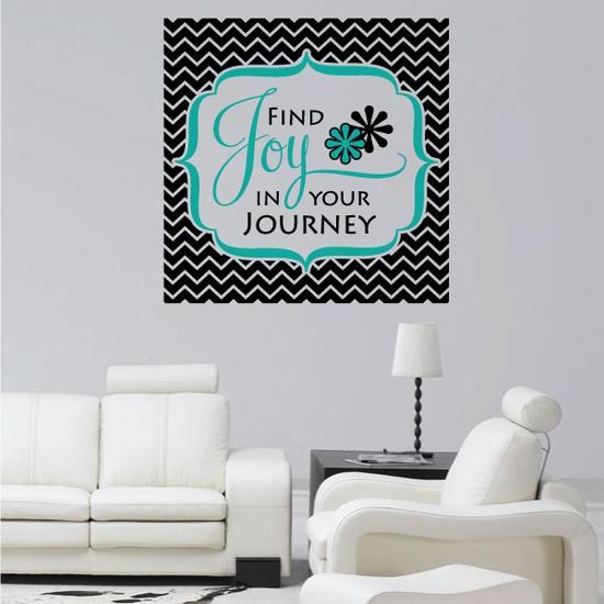 Find Joy in your Journey Wall Decal