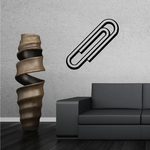 Paper Clip outline Decal