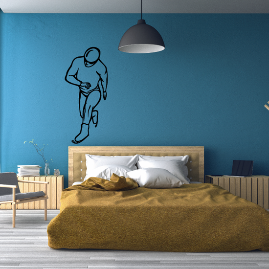 Ice Skating Wall Decal - Vinyl Decal - Car Decal - CDS0011