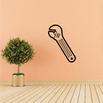Adjustable Metal Hand Wrench Decal
