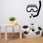 Snorkel and Mask Decal