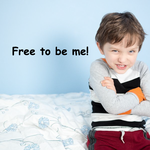 Free to be me! Decal