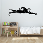 Freestyle Swimmer Decal