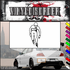 Ice Skating Wall Decal - Vinyl Decal - Car Decal - SM012