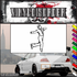 Ice Skating Wall Decal - Vinyl Decal - Car Decal - SM019