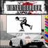 Ice Skating Wall Decal - Vinyl Decal - Car Decal - SM022
