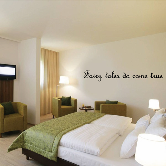 Fairy tales do come true Wall Decal