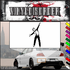 Ice Skating Wall Decal - Vinyl Decal - Car Decal - SM023