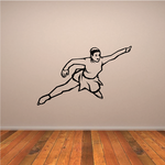 Ice Skating Wall Decal - Vinyl Decal - Car Decal - SM026