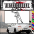 Ice Skating Wall Decal - Vinyl Decal - Car Decal - SM031