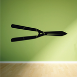 Hedge Clippers Decal