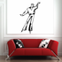 Ice Skating Wall Decal - Vinyl Decal - Car Decal - SM034