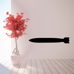 Large Bomb Decal
