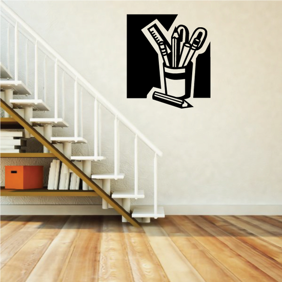 Cup of Pens Decal