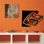 Office Desk Phone Decal
