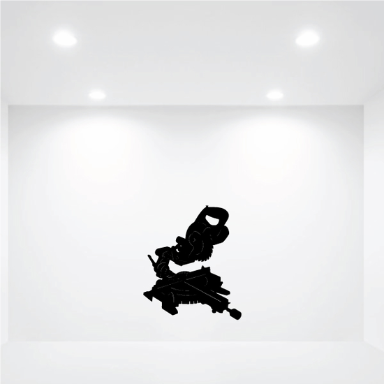 Miter saw Decal