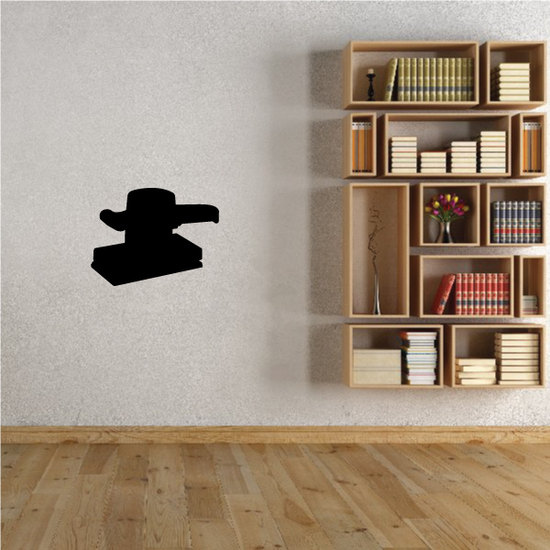 Square Electric Sander Decal