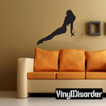 Pinup Silhouette Decal