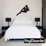 Pinup Sailor Silhouette Decal