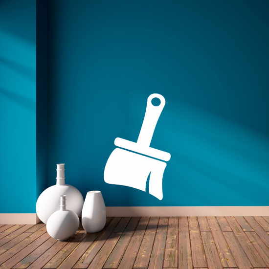 Wide Paint Brush Decal