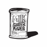 Milk Gives Super Powers Decal