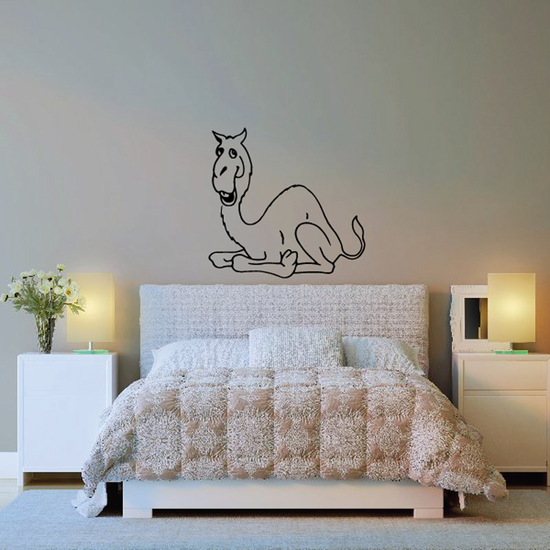 Resting Camel Decal