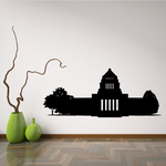 Washington DC Capitol Building Decal
