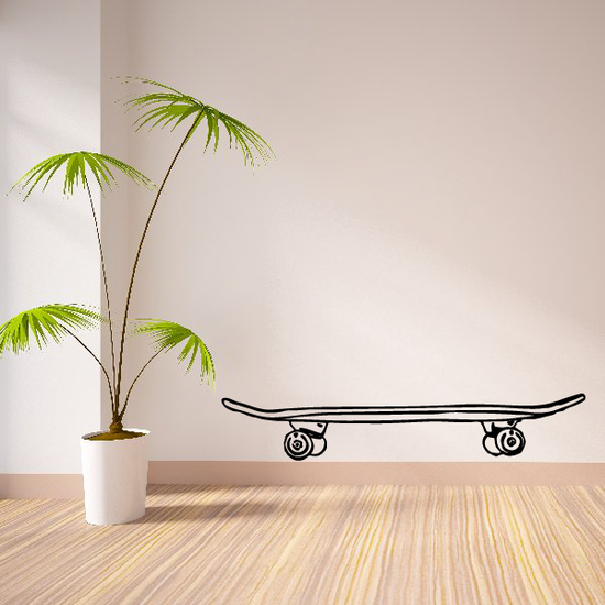 Side View Skateboard Decal
