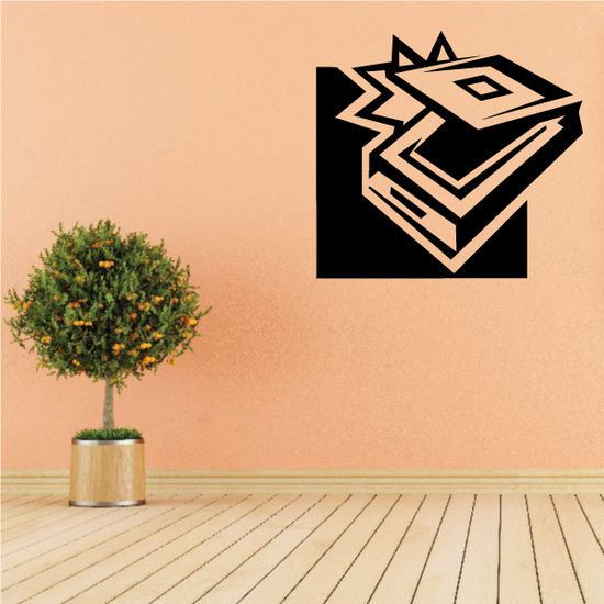 Office Scanner Decal