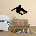 Skateboarding Wall Decal - Vinyl Decal - Car Decal - Vd004