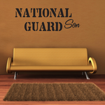National Guard Son Decal