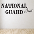 National Guard Aunt Decal