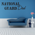 National Guard Dad Decal