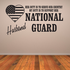 Her Duty Husband National Guard Decal