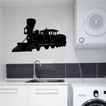 Train with Cowcatcher Decal