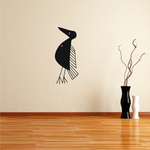 African Art Bird Decal