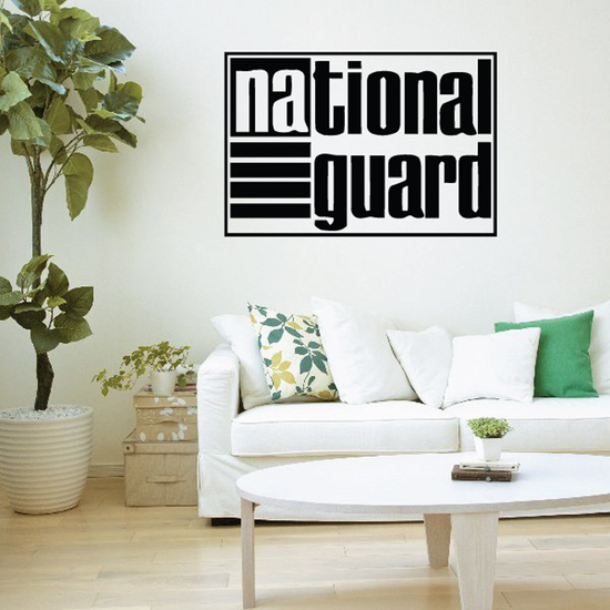 National Guard Logo Decal