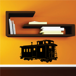 Fancy Caboose Front Decal