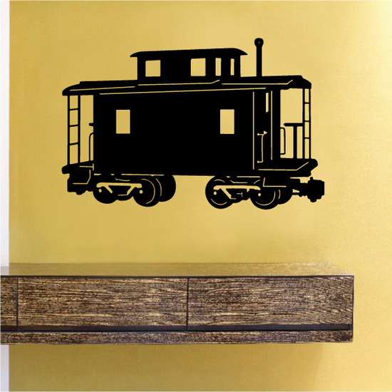 Detailed Caboose Front Decal
